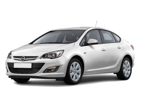 Rent a car Beograd, vrhunska cena, Opel Astra Sedan Automatic